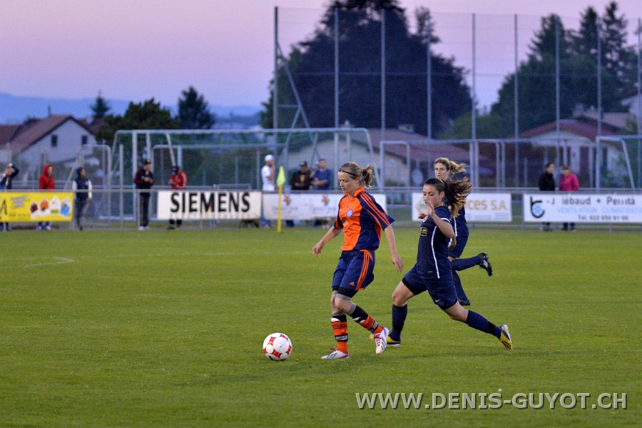 Finale de coupe féminine FCALL - FF Chênois  (96)