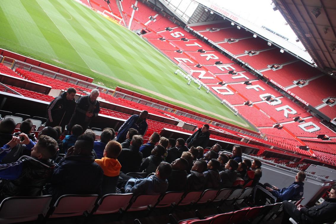 Dans l'immensite d'Old Trafford