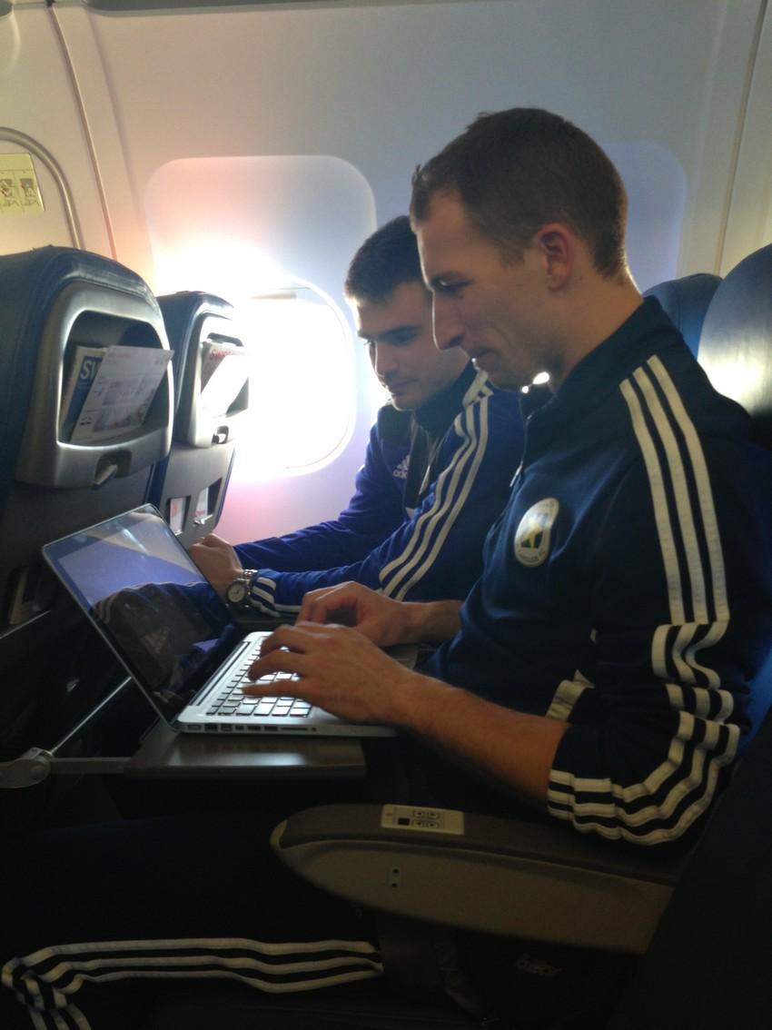 Derniere redaction Proxifoot dans l'avion