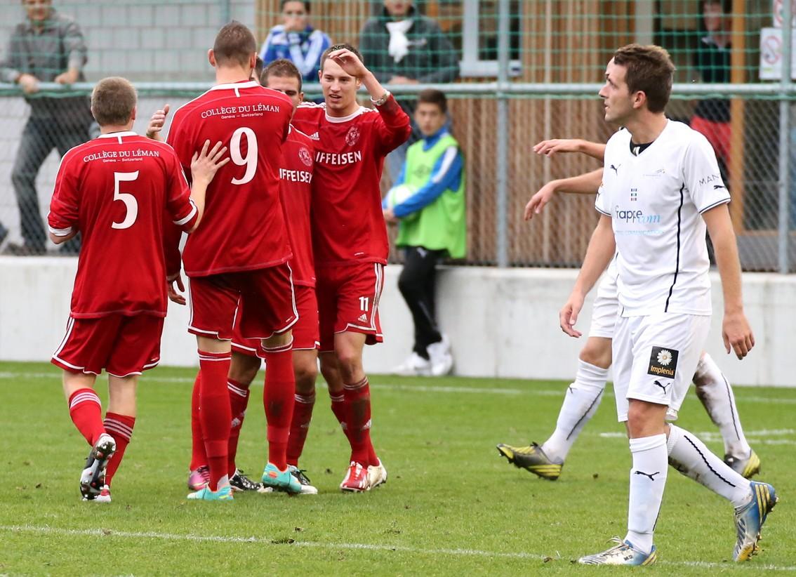 FC Vevey Sports 05 vs Fc Collex Bossy 0-1