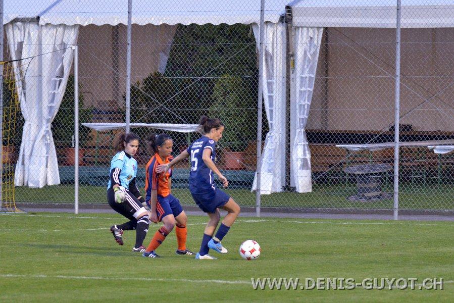 Finale de coupe féminine FCALL - FF Chênois  (86)