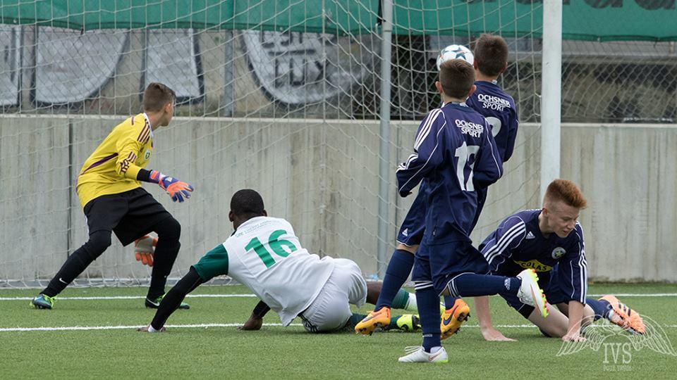 Ngonto remet les deux équipes à égalité sous les yeux de carougeois impuissants