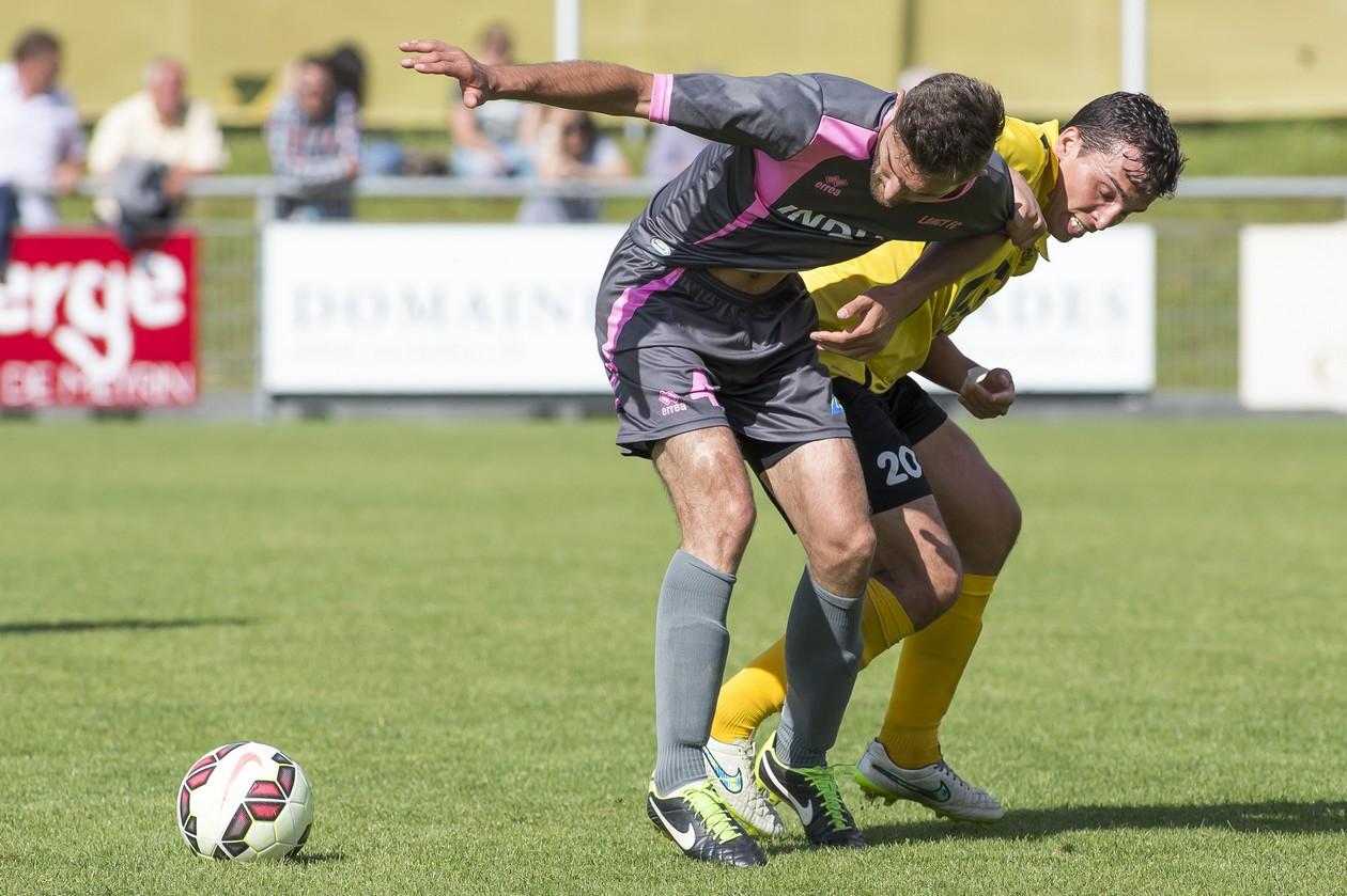 Match de 1ère ligue entre la formation du Fc Meyrin et celle du Fc Lancy